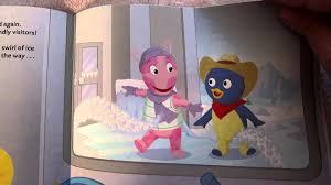 backyardigans secret snow aloud story book early