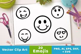 margarita emoji watercolor emoji clipart illustrations creative market
