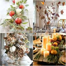 12 thanksgiving centerpieces to set a beautiful table