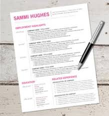 instant download resume design template microsoft word