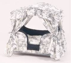 Shabby Chic Dog Bed by Dog Beds Designer Canopy Pet Beds Pets Trends