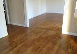 installing spacers between tileslaminate flooring transition at