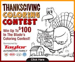 thanksgiving coloring pages for contests happy thanksgiving