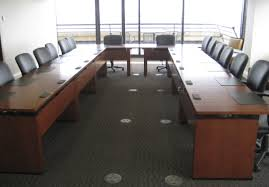 Wood Conference Table Contemporary Conference Table Wooden Rectangular With