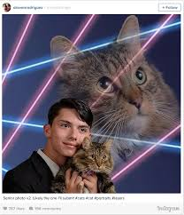cat yearbook draven rodriguez dead from apparent laser cat photo