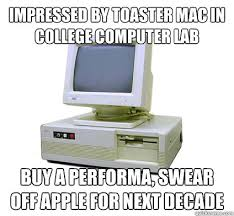 Toaster Mac Impressed By Toaster Mac In College Computer Lab Buy A Performa