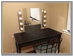 Diy Makeup Vanity Mirror With Lights Diy Makeup Vanity Home Design Ideas