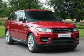red land rover used range rover sport for sale listers