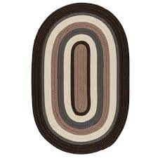 home decorators area rugs home decorators collection frontier 8 ft x 8 ft brown round
