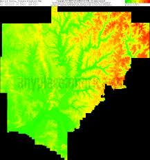 Indiana Map Us Free Warrick County Indiana Topo Maps U0026 Elevations