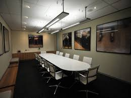uncategorized spacious office conference room design with wall art