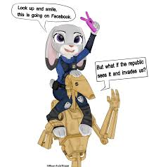 Droid Meme - judy hopps with battle droid crossover know your meme
