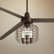 industrial style ceiling fan with light large ceiling fan with light industrial style looking fans