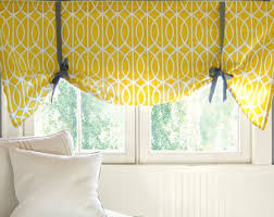 Yellow Window Curtains Curtains U0026 Window Treatments Etsy