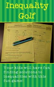 44 best math inequalities images on pinterest teaching ideas