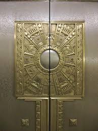deco plaque metal ohio sc interior basement elevator door art deco basement u2026 flickr