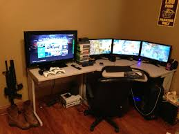 Computer Set Ups by Eyefinity Trips Battlestation Inspiration Pinterest Gaming