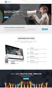 65 best one page website templates free u0026 premium web creative all