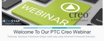 webinar replay how to use creo easy framework design