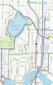 Wsdot Seattle Traffic Flow Map by Green Lake And Wallingford Paving Projects Are A Chance To Make