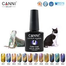61603x nail paint type canni nail art supply nail gel polish magic
