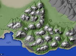 Eragon Map Alagaesia U0027s Beor Mountains Shur U0027tugal The Official Inheritance