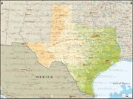 Mexico Physical Map by Texas Physical Map Thinglink