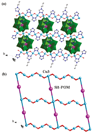 two new pom based compounds containing a linear tri nuclear copper