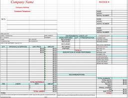 Repair Order Template Excel 18 Free Hvac Invoice Templates Demplates