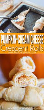 pumpkin cheese crescent roll recipe the pinning