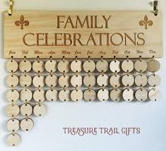 family celebration board family birthday board family calendar