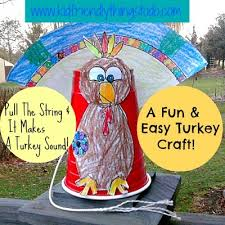 interactive turkey gobble sound cut and paste craft