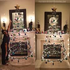 floating cardboard christmas tree tutorial crafty morning