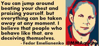 Fedor Emelianenko Meme - fancy fedor emelianenko meme mma fighters who play mind games are