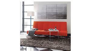 High Sofa For Elderly Flex Orange Sleeper Sofa Cb2