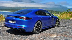 new porsche 4 door 2018 porsche panamera turbo s e hybrid first drive review