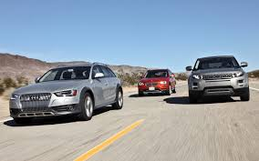 bmw x1 vs audi q3 2013 audi allroad vs 2013 bmw x1 vs 2012 land rover range rover