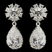 boucle d oreille mariage boucles d oreilles mariage cristal k bijoux