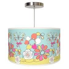 usa made children u0027s lighting floral fun children u0027s pendant lamp