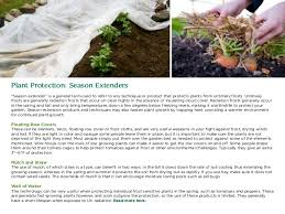 simple ways to extend your growing season gardening guidebook