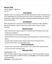 sample resume formats for experienced sample resume civil