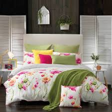 celeste pink quilt cover u0026 pillowcase set pink by bianca double bed