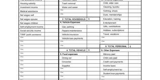 simple personal budget template excel monthly expense spreadsheet