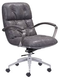 avenue vintage office chair leatherette office chairs