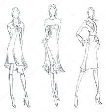 fashion model coloring pages fashion stock vectors royalty free fashion illustrations