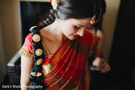 bridal hairstyle for reception columbus oh indian wedding by derk u0027s works maharani weddings