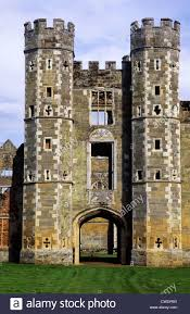 cowdray house gatehouse sussex england uk english tudor