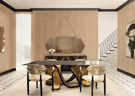 ribbon dining table luxury dining tables design trends and