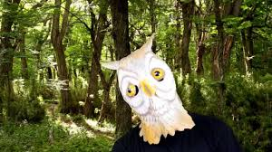 owl deluxe latex mask halloween masks trendyhalloween com
