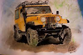 jeep art azinrakhtshah azin rakhtshah deviantart